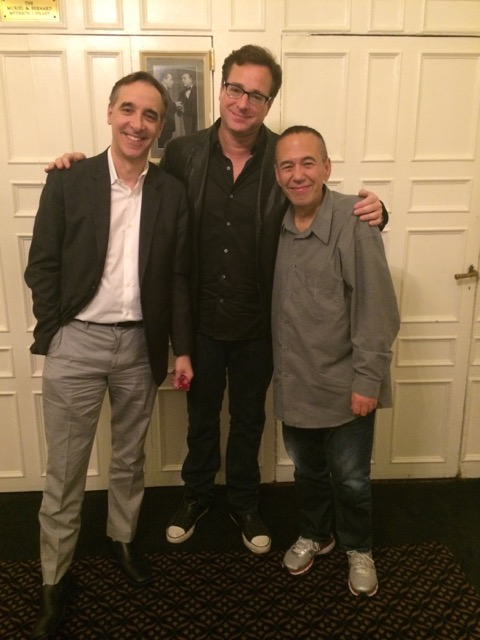 Bob Saget dropped by the historic Friars Club