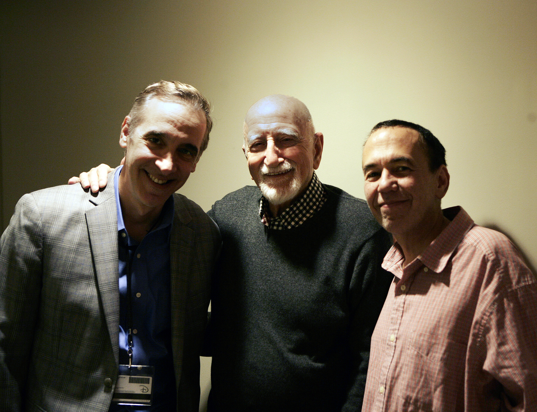 Frank, Dominic Chianese, and Gilbert. --by Jessica Wynne.