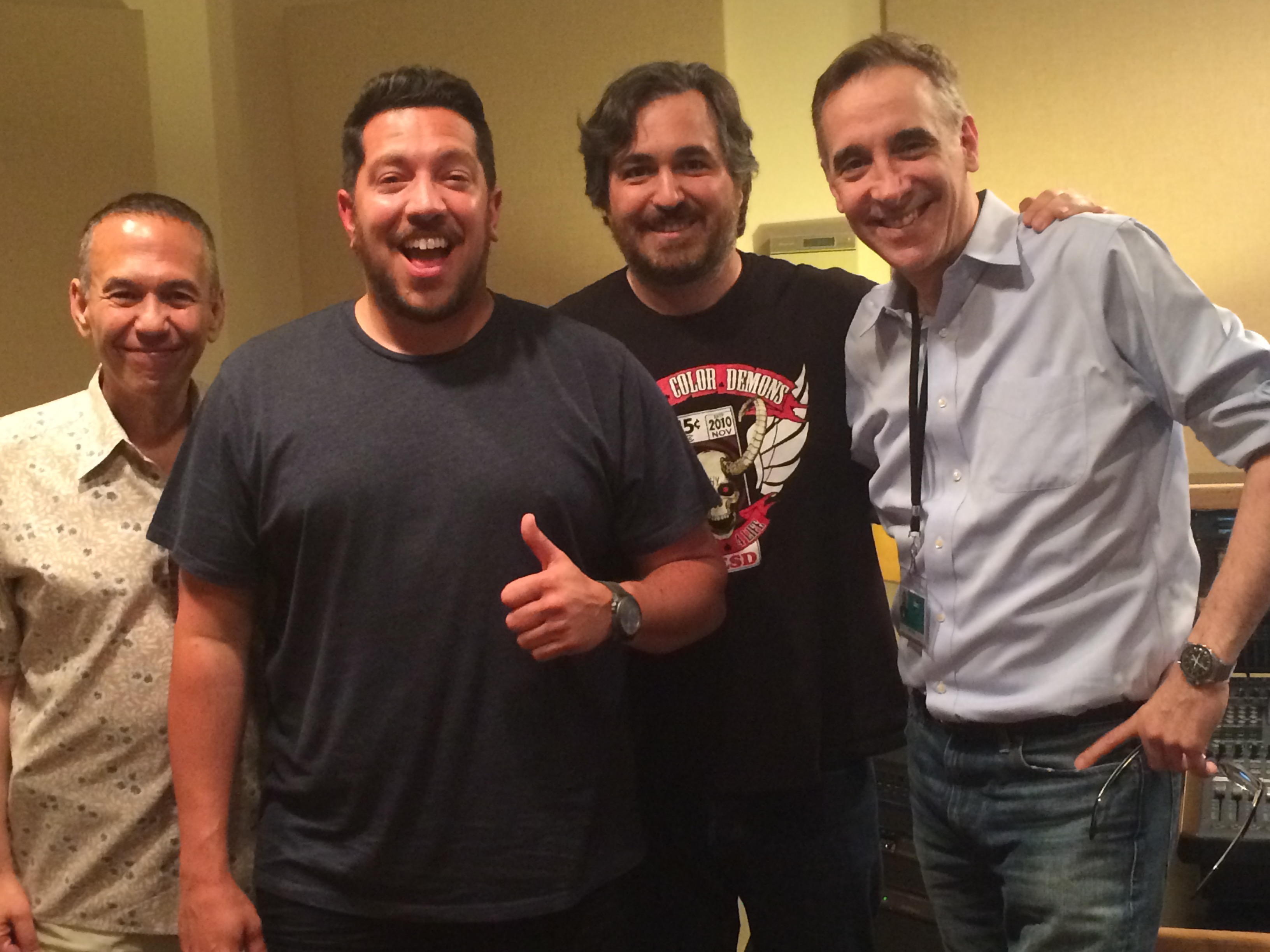 "Brian ""Q"" Quinn and Sal Vulcano of Impractical Jokers"