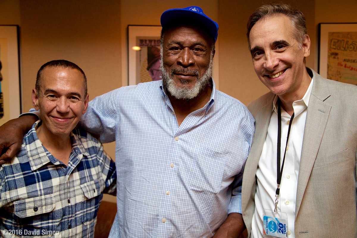 John Amos and the Guys